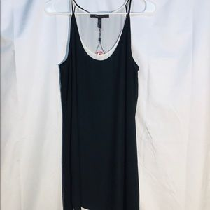 BCBGMaxazria Black GIGI Tank Dress size S